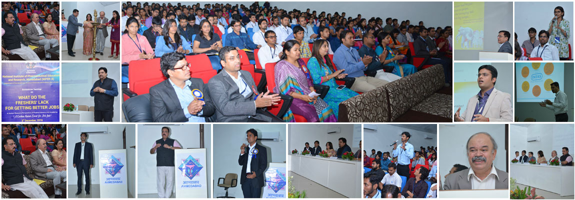 NIPER-A organized seminar on What do the fresher