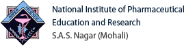 National Institute of Pharmaceutical Education and Research S.A.S. Nagar (Mohali)